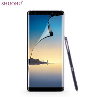 100pcs Lot SHUOHU Note8 3D PET Soft Screen Protector For Samsung Galaxy Note 8 Full Cover
