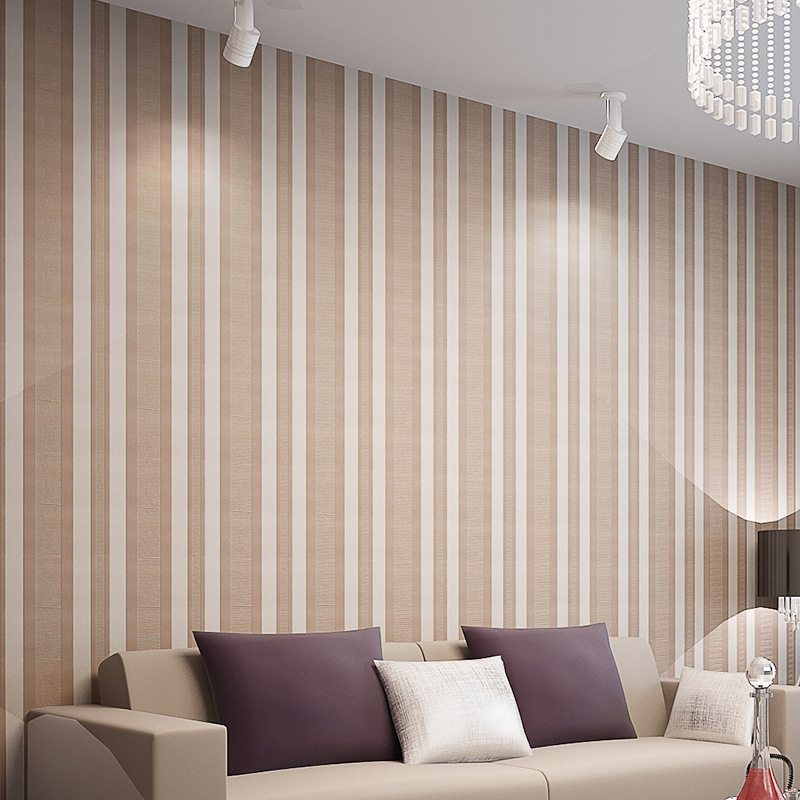 beibehang Simple vertical stripes velvet wallpaper for walls 3 d Wall Paper Living room Bedroom  3D wall papers home decor beibehang shop for living room bedroom mediterranean wallpaper stripes wallpaper minimalist vertical stripes flocked wallpaper