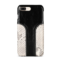 Wangcangli phone case snake skin fight wax leather back cover for iphone 6S case all hand made custom processing