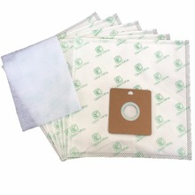 Cleanfairy 15pcs vacuum cleaner bags compatible with Samsung VP77 VP95,Nilfisk coupe neo 50,55,Bissell type 32115 6900 Series