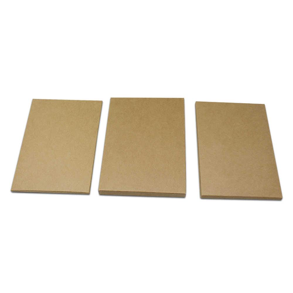 30 stks/partij 7 Maten Bruin Kraftpapier Postkaart Pakket Box Karton Papier Envelop Foto Verpakking Partij Wenskaart Pack doos