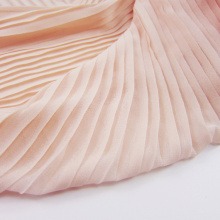 100 Fold Organ Cloth Composite Silk Chiffon Naked Apricot Colo