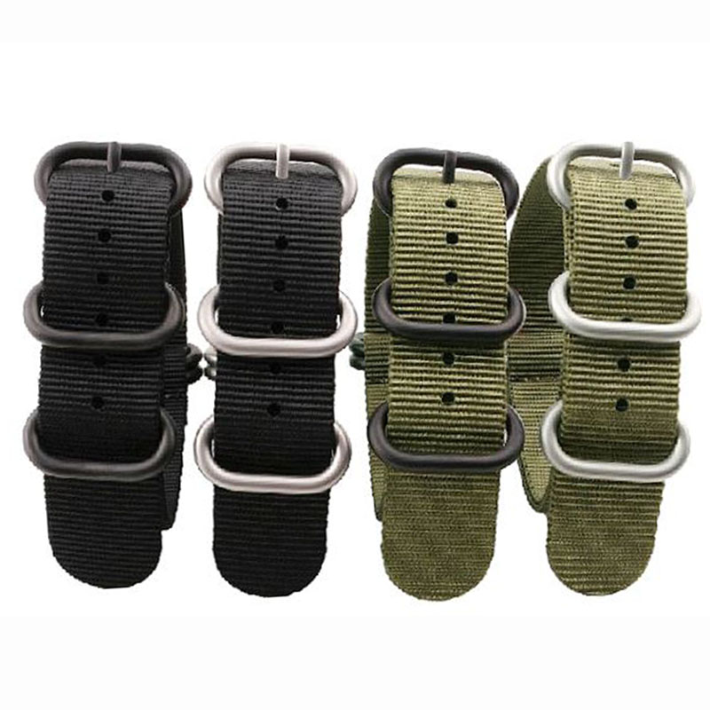 NEW High Quality Straps For NATO 18mm 19mm 20mm 21mm 22mm 23mm 24mm 26mm Black Green Gray Sports leisure woven Nylon Watch Strap eyki h5018 high quality leak proof bottle w filter strap gray 400ml