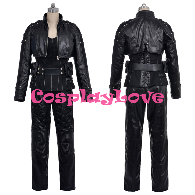 Newest American Movie Green Arrow Black Canary Sara Lance Cosplay Costume High Quality Christmas Halloween