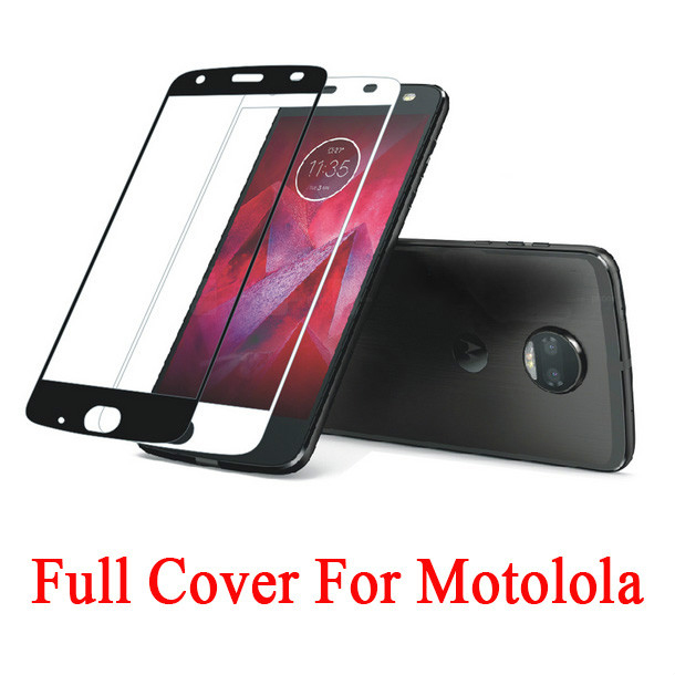 2.5D Full Coverage Tempered Glass For Motorola G5S E4 Screen Protector For Moto G4 E5 E6 G8 Plus Z2 Z3 Play Protect Film Glass image