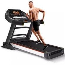 HD цветной экран электрическая беговая дорожка для тренажерного зала многофункциональное оборудование для упражнений для пробежки тренировок в помещении для домашних беговых дорожек