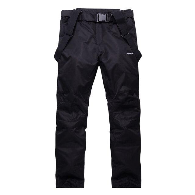 Unsex Woman or Man Snow pants outdoor sports snowboarding Trousers waterproof windproof winter warm outdoor Bibs Ski Belt pants