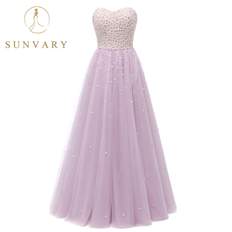 Sunvary Pearls Ball kleita Quinceanera kleitas Sweetheart pielāgotas - Kleitas īpašiem gadījumiem