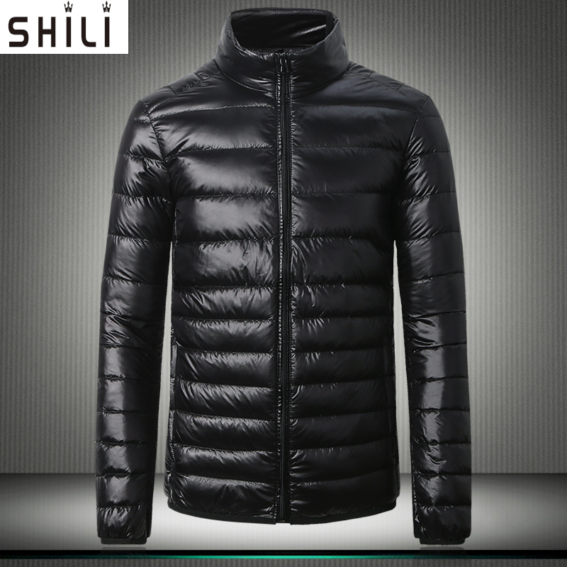 2016 Brand New Casual Ultralight Mens Duck Down Jackets Autumn Winter Jacket Men Lightweight Jacket Solid Color coat S-5XL
