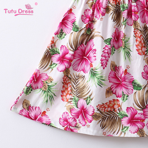 6bcddb9bed68e Pk Bazaar cute floral baby girls dress kids costume summer clothes ...