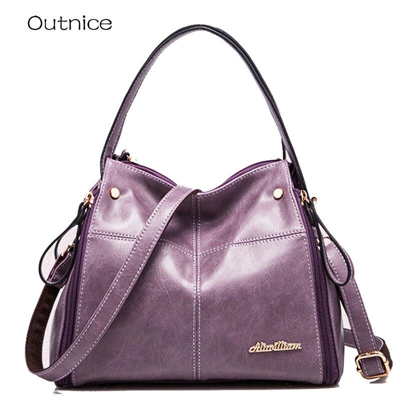 Kabelky Luxury Handbags Women Bags Designer Shoulder Bag Female Italian Leather Office Ladies ...