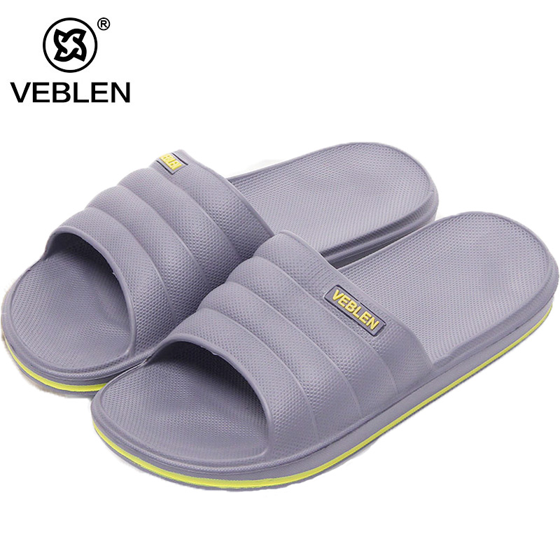 Cool Slippers Couple Models Men and Women Word Soft Bottom Anti-skid Slippers Summer Bath Floor Cool Slippers