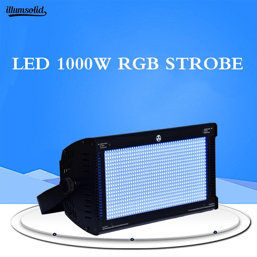 High Power LED 1000W RGB Strobe Led Spotlight Dmx LED Strobe Lighting Stage Party Music