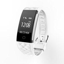 Bluetooth Smart Браслет S2 с Фитнес Спорт трекер сна монитор сердечного ритма дистанционный пульт шагомер водонепроницаемый СМН OLED