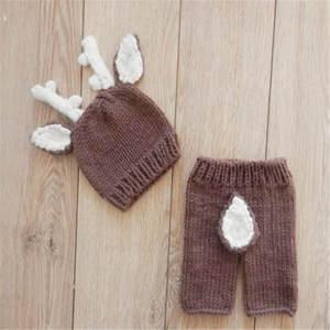 487bc485719 SeeTomatos Crochet Knit Newborn Baby Photography Props Hats
