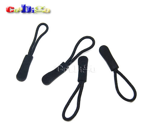 1000pcs Pack Outdoor Backpack Zipper Pulls Cord Rope Ends Lock Zip Clip Strap Gym Suit Garment