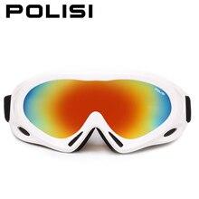 Invierno mujeres de los hombres gafas de esquí polisi anti-vaho de snowboard snowmobile gafas de skate deportes de montaña de nieve esqui uv4000 eyewear