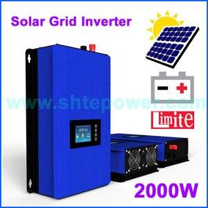 Image 1 - 2000 Вт Флейта с внутренним ограничителем MPPT, чистый синусоидальный солнечный инвертор 2 кВт, 220 В переменного тока, 230 В, 240 В