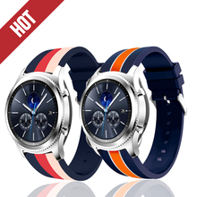 Sports band 22mm 20mm For Samsung Gear S2 S3 Frontier Classic huami amazfit bip Straps huawei GT 2 galaxy watch active 42mm 46mm 20mm 22mm sports silicone band for samsung galaxy 46mm 42mm s3 s2 classic gear sport strap for huami amazfit bip huawei watch 2