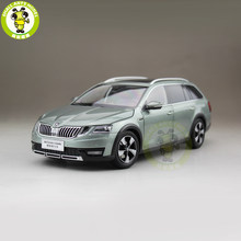 1/18 Skoda Octavia Combi Wagon Diecast Metal CAR MODEL Toy Girl Boy Birthday gift Green Color(China)