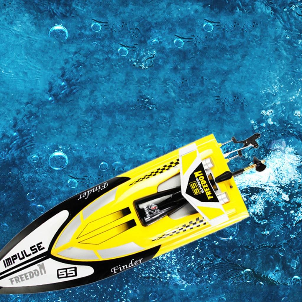Smart RC bateau jouet électrique haute vitesse bateaux 24 km/h 4 canaux course télécommande bateau RC bateaux T520