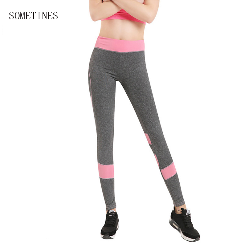 SOMETINES High Waist Elbows Fitness New Legging Work out Activity Leggings Bodybuilding Clothes Body Shapers Women Leggings