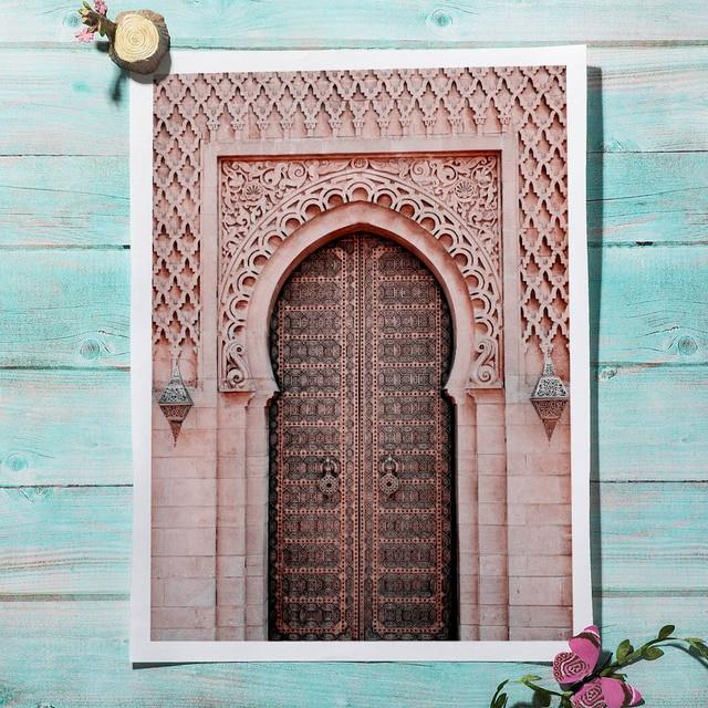 Grande roue voiture fleur maroc nu ligne mur Art impression toile peinture fille nordique Vintage affiche mur photo pour salon