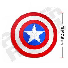 Captain America Huge 3D Car Sticker Luxury for Laptop Fridge Motorcycle Decal DIY Metal Stikers Toy