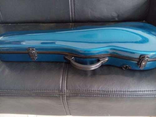 4/4 Size Violin Glass Fiber Steel Case Violin Case Or Box In Blue