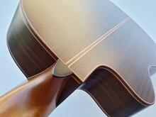 performance thin body cut-way classic guitar solid red cedar professional classic guitar