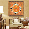 Flower Home Decor Wall Clock Wall Watches Decoration Diamond Painting Cross Stitch Painting Calligraphy 5D Diamond