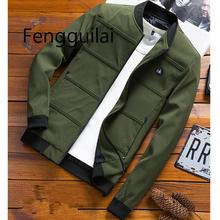2019 Casual Coat  Fashion Men Bomber Jacket Hip Hop Patch Designs Slim Fit Pilot Bomber Jacket Coat Men Jackets Plus Size 4XL недорого