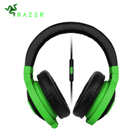 Razer Kraken Mobile Analog Music and Gaming Headset Colorful 3.5mm with Mic Media Control Remote Gaming Music Earphone Headphone