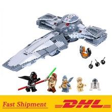 Yıldız 05008 savaşları kuvvet uyandırmak Sith İnfiltratör modeli yapı taşı oyuncak çocuk için hediye ile uyumlu 75096 hediyeler