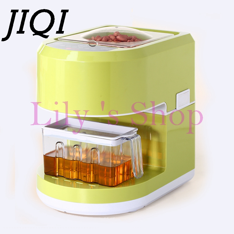 MINI household seeds Oil Press Machine seeds Peanut Oil Presser maker automatic stainless steel electric Oil Expeller Extractor cukyi household electric multi function cooker 220v stainless steel colorful stew cook steam machine 5 in 1