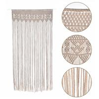 Quality 90*180cm Pure Cotton Hand Woven Tapestry Wedding Outdoor Lawn DIY Wedding Party Backdrop Decoration Hanging Curtain