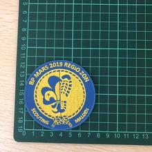 Personalised Logo Custom Made Iron on Patches Badges Embroidered DIY Patch factory direct can be customized for promotional gift