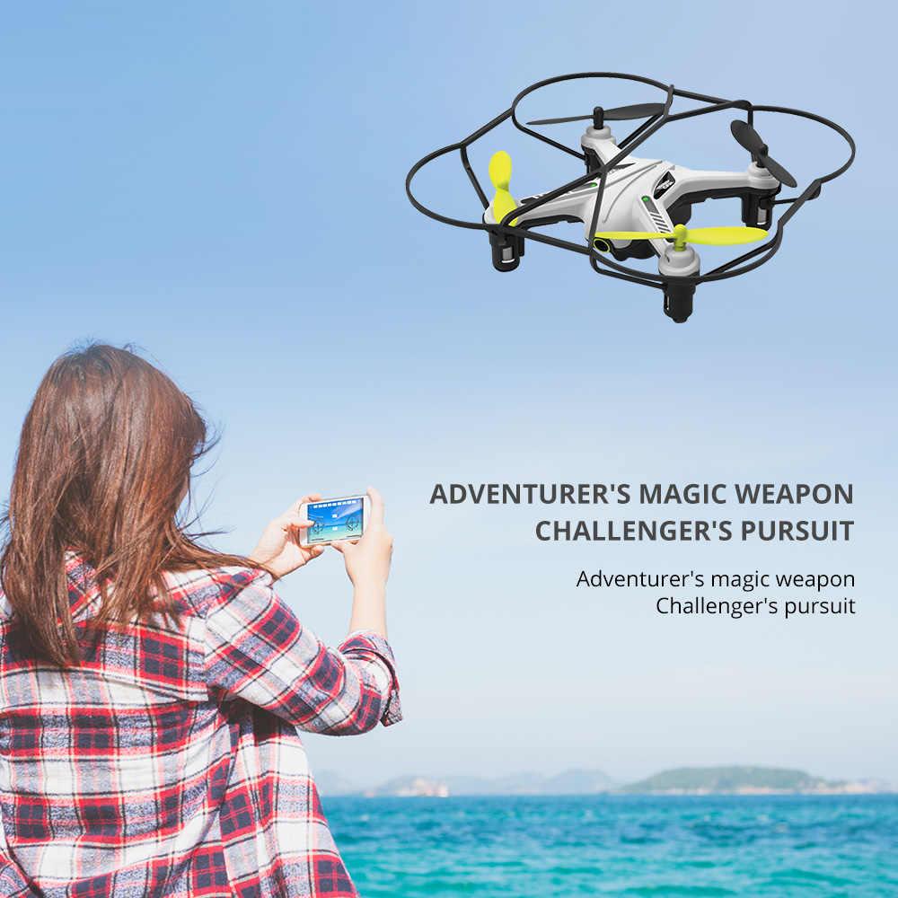 Dron de Control de teléfono móvil con cámara HD WIFI Mini RC Quadcopter Modo de Altitud sin cabeza Dron Mini cámara Drones Quadrocopter