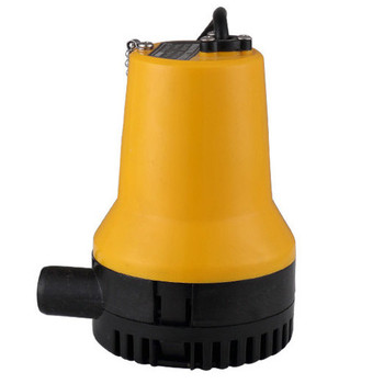 Kleine Wasserfontänen | Gelb 12 V Öl Bilgenpumpe 3 Mt 3/h Kleine DC Tauchwasserpumpe Für Brunnen Garten Bewässerung Schwimmbad Reinigung Landwirtschaft