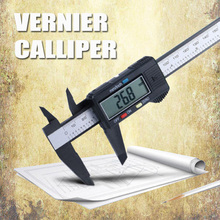 цена на 150mm/6inch Electronic Vernier Caliper LCD Digital Vernier 0.01mm Caliper Gauge Micrometer Measuring Tool