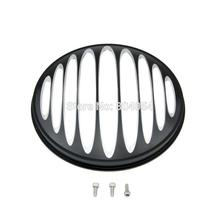 Deep Cut Headlight Grill For Harley-Davidson 7″ Headlight FLHT FLHX FLTR Models