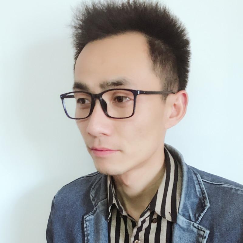 XINZE 2017 Baru besar TR90 pria kacamata bingkai resep miopia jelas - Aksesori pakaian - Foto 3