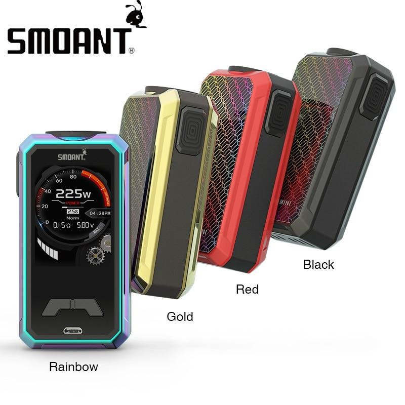 все цены на Original Smoant Charon Mini 225W TC Box MOD Max 225W Output No 18650 Battery Box Mod Vape Mod Vs Smoant Cylon / Smoant Naboo