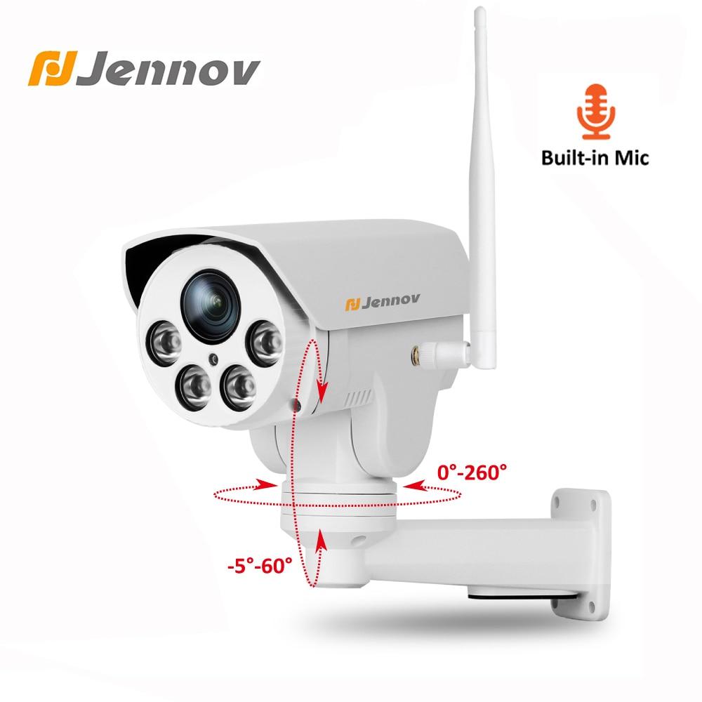 Jennov Enregistrement Audio Wifi IP Caméra Zoom 1080 p 2MP Vidéo Surveillance Wi-Fi HD Accueil Sécurité Sans Fil Caméra P2P ONVIF camhi CCTV