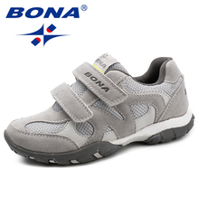 BONA New Arrival Classics Style Children Casual Shoes Hook & Loop Boys Loafers Outdoor Fashion Sneakers Light Fast Free Shipping