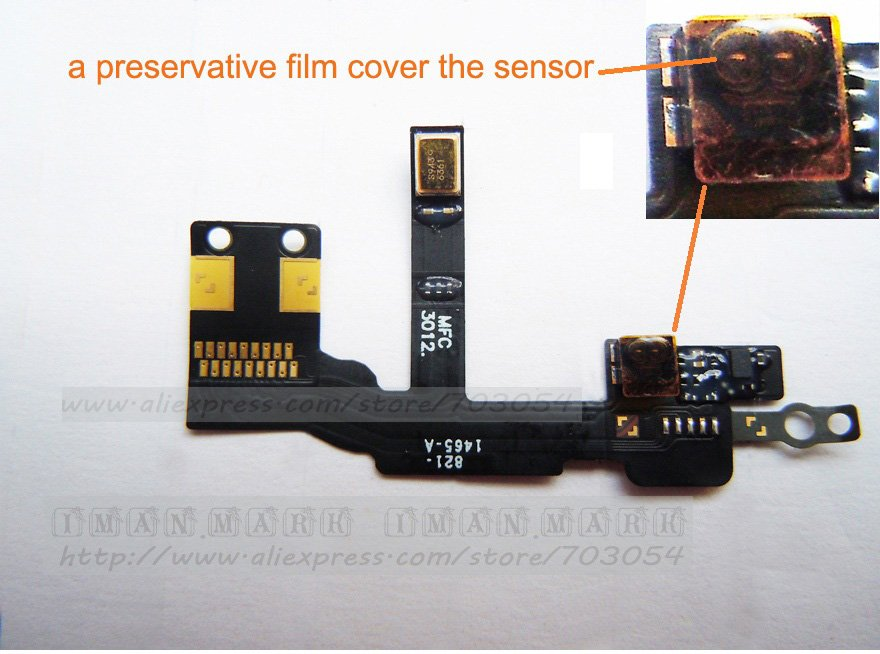 FreeShipping Genuine Replacement for iPhone 5 proximity Light Sensor ...