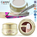 1PCS 15ml CANNI Natural Nude Pastel Color UV Builder Gel Camouflage UV Gel Acrylic for Nail Art False Tips Extension 25 Colors