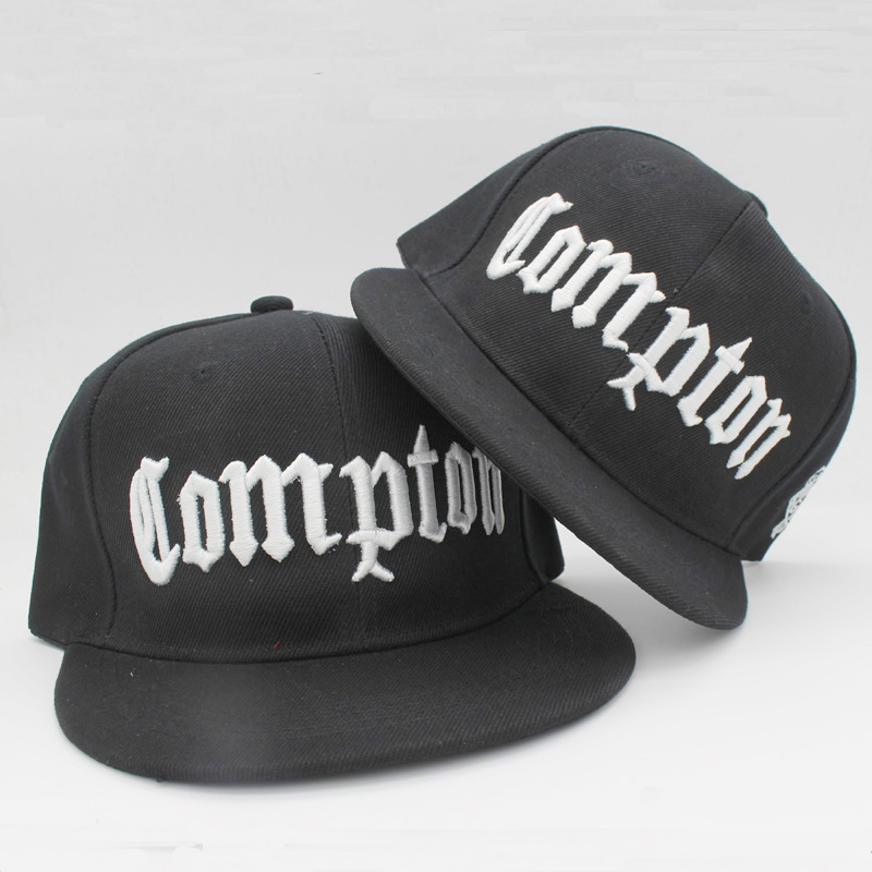 COMPTON Snapback Women Men Cap Summer Casual Hip Hop Outdoor Baseball Hats Flat Brim Casquettes Gorras Sports Caps HT51087+20