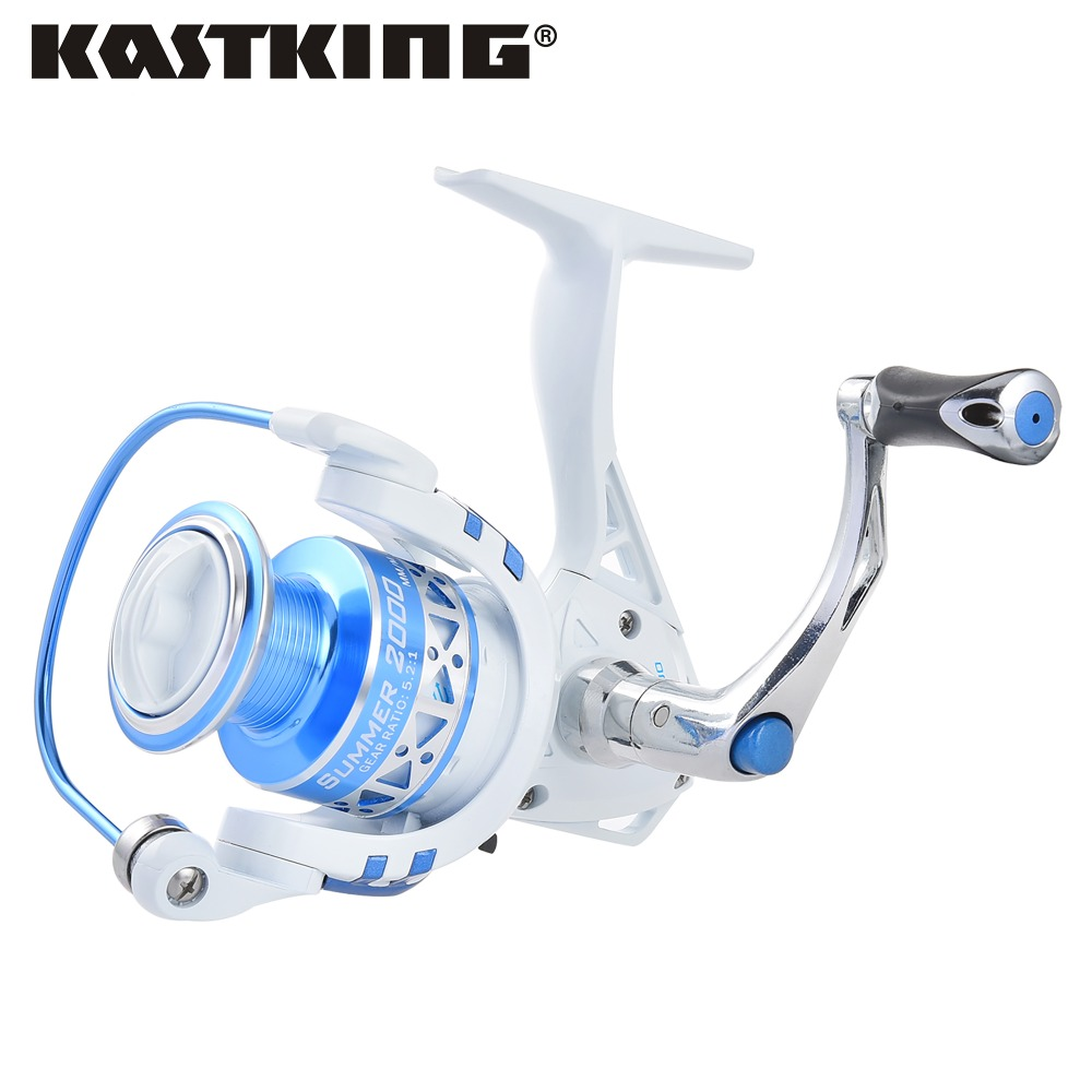 Kastking new summer series 10bb metal spinning fishing for Carp fishing reels