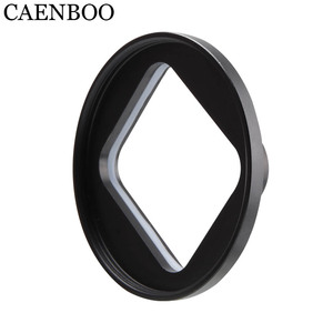 Image 2 - CAENBOO filtro de lente para XiaoMi Yi 4K/II/Lite/Plus Color CPL UV Red Filter Yi 4K carcasa impermeable carcasa 52mm accesorios de buceo